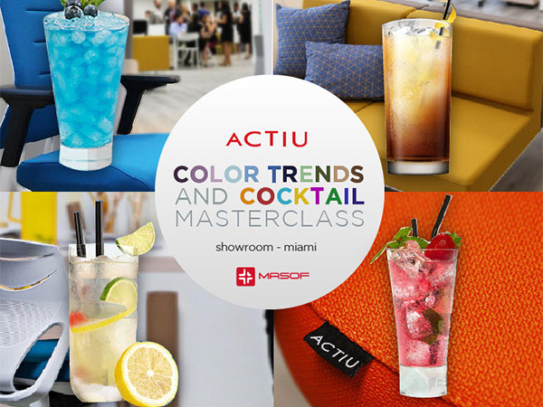 ACTIU COCKTAIL MASTERCLASS SESSIONS